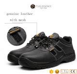 Mens работают составные стальные ботинки безопасности пальца ноги с реальной кожей