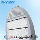 Indicatore luminoso di via dell'indicatore luminoso di parcheggio del LED con Ce RoHS 100W approvato 120lm/W