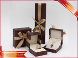 El papel de la moda Joyero Bow Necklace Caja de papel