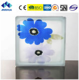 Jinghua artístico de alta qualidade P-020 Pintura de tijolo/bloco de vidro