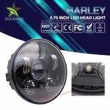 Feu de stationnement 5.75pouces Projecteur à LED avec DOT pour moto Jeep