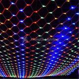 L'extérieur LED solaire filets de lumières de Noël pour la décoration de vacances