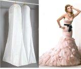 Deluxer nichtgewebter transparenter Kleid-Deckel-Beutel für Hochzeits-Kleid