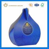 Rectángulo de empaquetado de plata plegable modificado para requisitos particulares del petróleo esencial de la cartulina