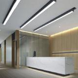 Luz linear suspendida luz linear del enlace del LED