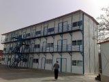 Het goedkope PrefabdieHuis van de Structuur van het Staal in China wordt gemaakt