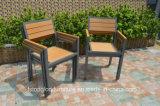 Insieme esterno di legno di plastica della Tabella pranzante di nuovo disegno 2017 e della mobilia della presidenza