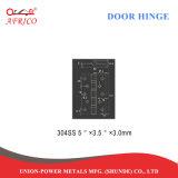 Глянцевое покрытие 5 дюймовый 4bb из нержавеющей стали заподлицо петли для деревянных дверей