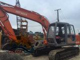 Verwendeter Gleisketten-Exkavator Aufbau-Maschinen-Löffelbagger-Baggerhitachi-Ex120