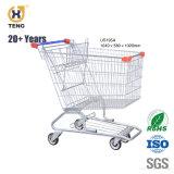 Carrinho de Compras de supermercado de metal de 40 litros para 275 litros