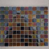 Цветастая стеклянная мозаика стекла плавательного бассеина толщины плитки мозаики 8mm