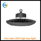 Indicatore luminoso d'accensione esterno della baia del UFO LED del driver 100W 150W 200W di Meanwell di vendita calda alto