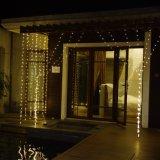 UL588는 집 상점 또는 결혼식 훈장을%s 3*3m LED 커튼 빛을 승인했다