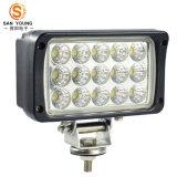 45W 도로 떨어져 차와 트럭 작동 빛을%s 자동 LED 일 빛 12V 24V 높은 루멘은 IP67를 방수 처리한다