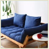 Sofá de madera sólido de la sala de estar