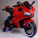 Novo modelo de motociclo eléctrico de crianças com rodas iluminado