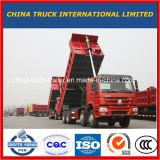 판매를 위한 Sinotruck HOWO 12 바퀴 짐수레꾼 팁 주는 사람 덤프 트럭