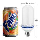 Lámpara simulada efecto de la decoración de los bulbos E27 del maíz de la luz del fuego de la naturaleza de la llama del LED