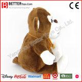Zachte Stuk speelgoed van de Aap van de Pluche van de Dieren van de bevordering het Gift Gevulde voor de Jonge geitjes van de Baby