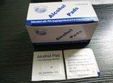 Medical algodón impregnado en alcohol isopropílico al 70% con certificado CE