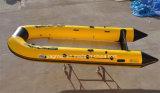 Vouwbare Opblaasbare Vissersboot 200cm650cm van de Redding van de Snelheid