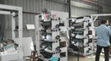 A Flexo máquina de impressão com Die cortar 8 Cor 4+4 Duas Torres