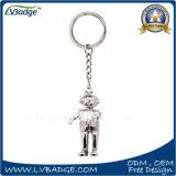 Metallo promozionale Keychain della catena chiave del regalo dei randelli