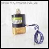 elektrisches 2W Magnetventile Uni-D kleines Oriffice Magnetventil-Messingventil-Druckluftventil