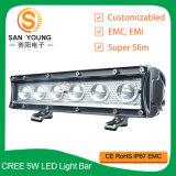 Barre d'éclairage LED 10inch DEL outre de guide optique pilotant de route