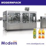 Machine remplissante de production de jus triple