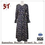 Customed nouvelle robe fashion femmes élégantes avec la courroie