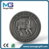 Moneta d'argento antica del metallo personalizzata vendite calde