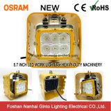 Leistungsfähiges 60W quadratisches LED Arbeits-Licht für Hochleistungsmaschinerie-Gerät (GT24001-60W)