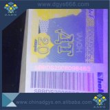 Biglietto del modulo continuo del documento termico