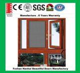호주 표준 이중 유리를 끼우는 알루미늄 여닫이 창 Windows