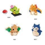 연결 장난감 구획이 Hsanhe에 의하여 만화 시리즈 Pokemon 다중 색깔 아BS 농담을 한다