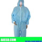 Faixa de 5mm calças casaco para salas brancas antiestático de Grade