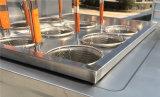 La Pasta de gas de acero inoxidable Cocina con cabina