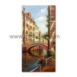 Классический пейзаж в Венеции Картины маслом на холсте