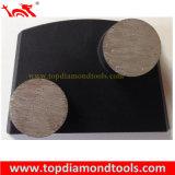 구체적인 갈기를 위한 사다리꼴 강철 플레이트를 가진 다이아몬드 닦는 패드