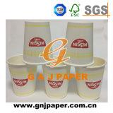Firmenzeichen druckte kundenspezifisches Kaffeetasse-Wegwerfpapier des Export-8oz