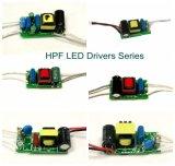 Excitador do diodo emissor de luz de Hpf PF> 0.9 da alta qualidade para 3W, 5W, 7W, 9W, luz de bulbo 12W