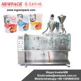 Machine à emballer automatique de sachet de miel de sauce tomate de sauce à ketchup de frère