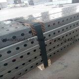 """2 """" tubo quadrato perforato galvanizzato di X 2 """" 14ga"""