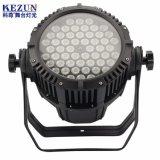 Wasserdichte IP65 DJ im Freien LED Stadiums-Lichter des Qualität 54X3w LED NENNWERT Licht-