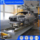 Ligne de peinture de véhicule avec le procédé de traitement préparatoire