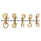 ベルトKeychainのための固体真鍮のトリガーの止め金のホック