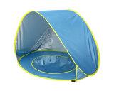 折りたたみ子供の子供はプールが付いている赤ん坊浜のテントをからかう