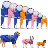 Chien de l'imperméable pour les petits grands chiens Vêtements jaune Pet manteau de pluie combinaisons étanches à chaud à niveler les animaux de compagnie de vêtements réfléchissants à capuchon