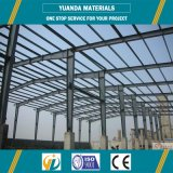 Entrepôt antivibration de qualité de coût bas de structure métallique